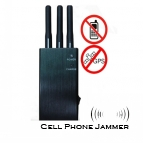 5 Band Cell Phone GPS Signal Blocker Jammer - 10 Meters [CMPJ00104]