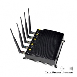 Adjustable Remote Control 3G,GSM,CDMA Cell Phone Jammer * 5Pcs [CMPJ00024]
