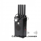 High Power Portable GPS + Cell Phone Jammer - 20 Meters [CMPJ00088]