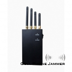 4 Band 4W Portable Cell Phone GPS Signal Jammer - 20 Meters [CMPJ00099]