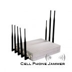12W 8 Antenna Cell Phone + GPS + Wifi + VHF UHF Jammer - 25 Meters [JAMMERN0002]