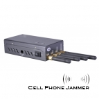 Portable Cell Phone Jammer with GSM Wifi GPSL1 [CMPJ00132]