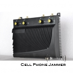 Adjustable Desktop Cell Phone + GPS Jammer with Remote Control - 40 Meters [CMPJ00084]