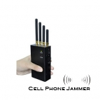 4G Lte 3G Cell Phone Jammer Portable 4 Band 2W [CMPJ00006]