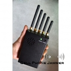 Cell Phone + Wifi + GPS Signal Blocker Jammer with Cooling Fan Portable [CMPJ00119]
