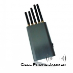 Portable Cell Phone & GPS & Wifi Signal Jammer [CMPJ00128]