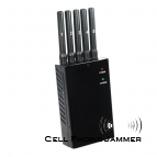 3G/4G/4G LTE/4G Wimax Portable Cell Phone Jammer All Frequency 5 Antenna [CMPJ00003]