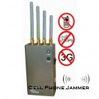 5-Band Portable Mobile Phone + GPS Jammer - 10 Meters [CMPJ00103]