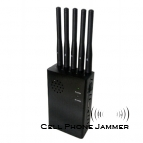 Portable 3G 4G(4G LTE + 4G Wimax) Cell Phone Jammer Blocker [JAMMERN0018]