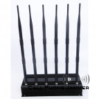 15W High Power Advance Cell Phone GPS Wifi VHF UHF Jammer - 50 Meters [CMPJ00130]